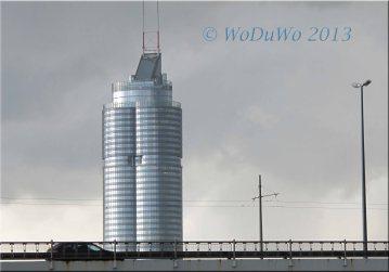 Tower hinter der Floridsdorfer Brücke